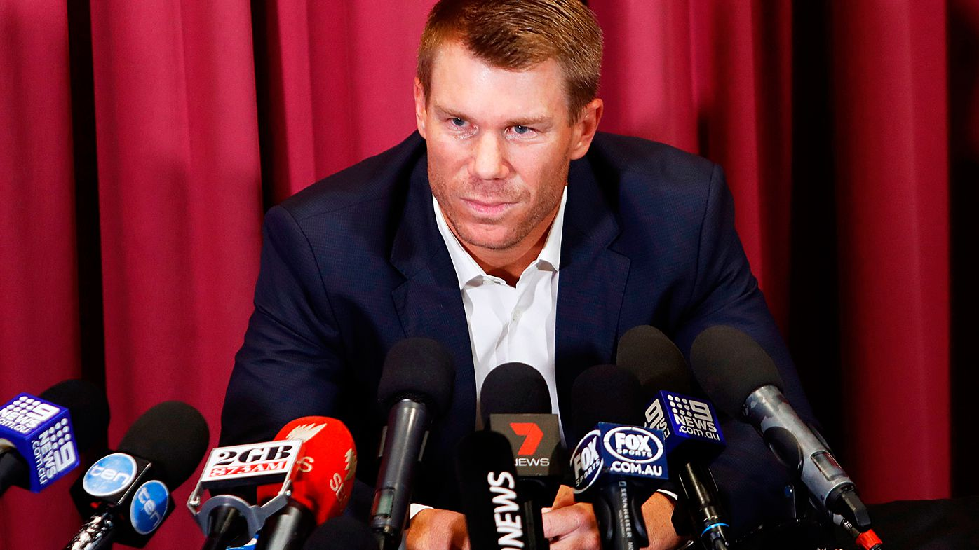 David Warner accepts year-long Test ban