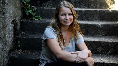 Maddie Pulver suffered from PTSD after the collar bomb hoax.