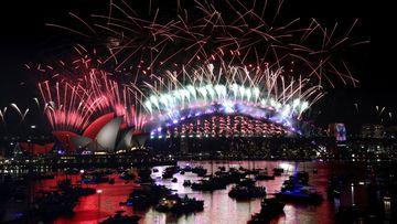 Sydney New Year's Eve fireworks 2019
