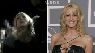 'Let me ride with her': Stormy Daniels arrest footage released