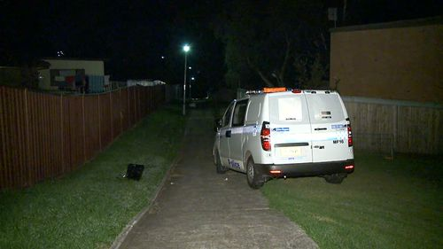 The victim is believed to be in his 20s. (9NEWS)