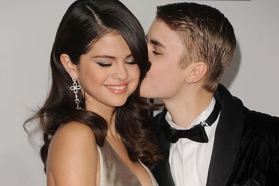 """Justin and Selena's love continued to blossom and they quickly become young Hollywoods """"it"""" couple. <br/>The Biebs famously treated his girl to a private screening of Titanic along with a candle-lit dinner for two at a stadium in L.A."""