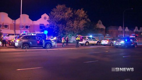 Adelaide new year police hit run crash