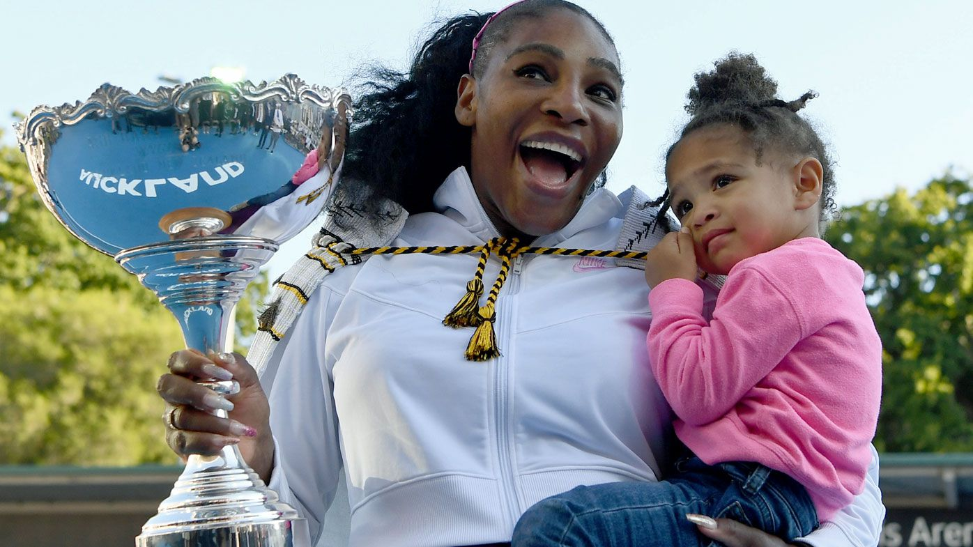 Serena Williams donates Auckland Classic prizemoney to bushfire relief after drought-breaking, historic win