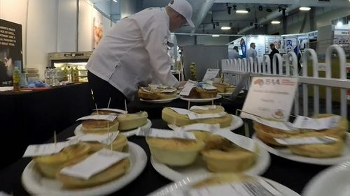 The pies have come from certified bakeries and patisseries across Australia. Picture: 9NEWS