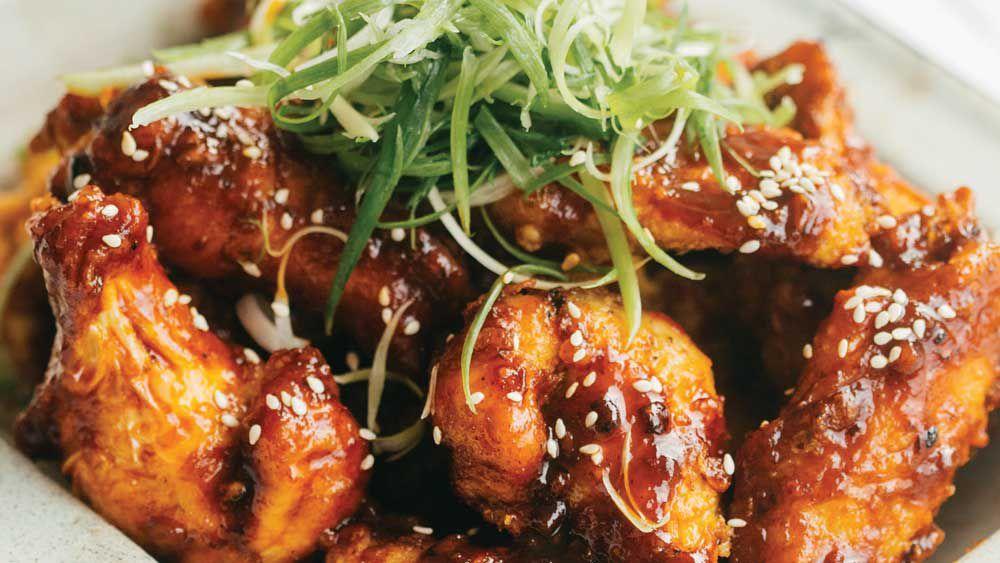 Spicy Korean fried Chicken recipe - 9Kitchen