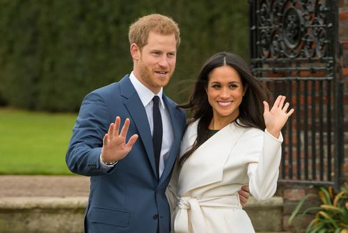 Prince Harry and Meghan Markle. (AAP)
