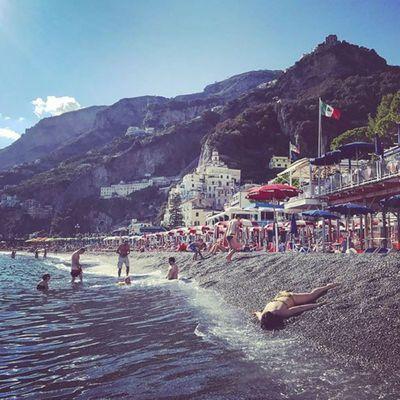 Amalfi Coast in Amalfi, Italy