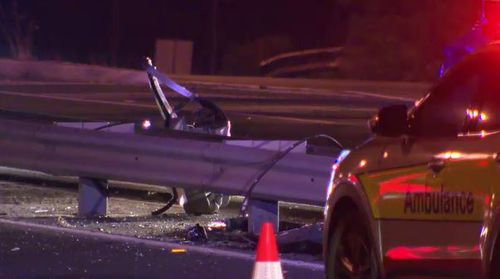 Three people were killed in the horror smash. Picture: 9NEWS