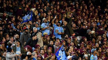 Domestic violence soars on State of Origin nights in NSW according to new research. (AAP)