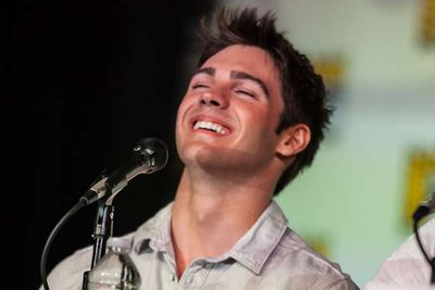 We can't help but feel like <i>Vampire Diaries</i> star Steven R. McQueen was made to be looked at in slow-motion.
