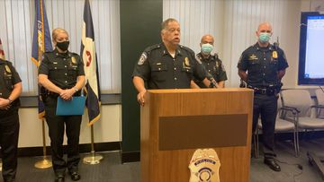 The results of an internal investigation led Marion County District Attorney to charge Sgt. Eric Huxley with official misconduct and battery with moderate bodily injury.