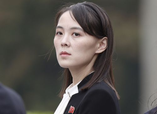 Kim Yo Jong, sister of North Korea's leader Kim Jong Un