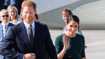 Prince Harry and Meghan Markle begin first overseas tour, July 2018