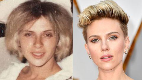 Scarlett Johansson grandma lookalike.