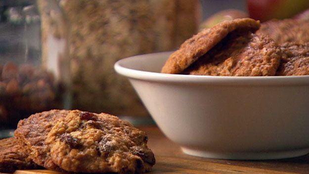 Honey & sultana cookies
