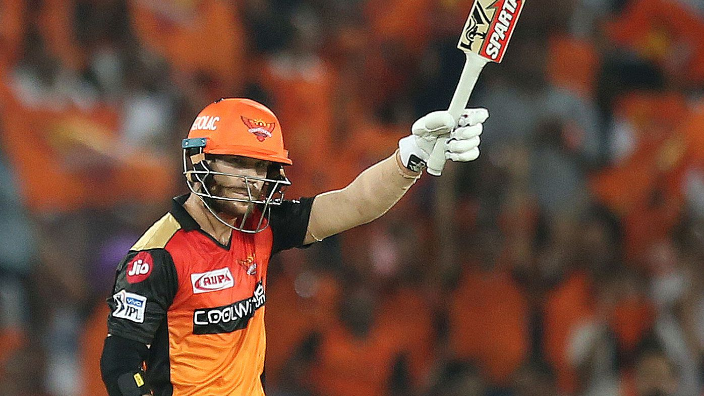 David Warner leads Sunrisers to defeat Steve Smith's Rajasthan Royals in IPL