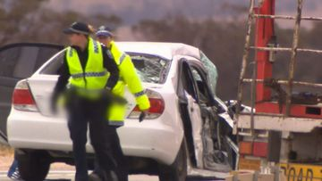A woman has died, and a man is seriously injured after a crash at a notorious intersection north of Adelaide.