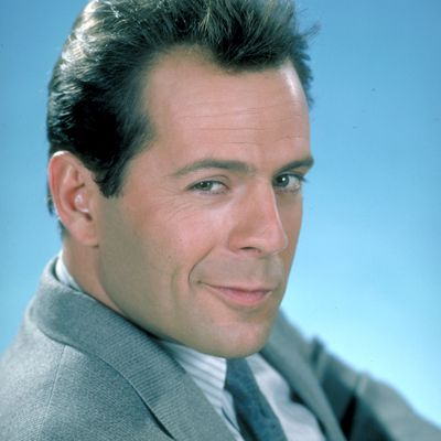 Bruce Willis as David Addison: Then