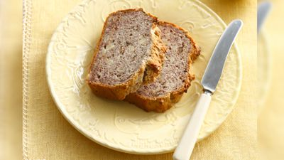 <p>Banana bread may seem like one of the healthier snack choices in café display cabinets, but research has revealed it can contain almost as much sugar as a Big Mac, and two slices can tip an adult over their recommended daily sugar intake.</p><p><strong>Click through the gallery to see find out which other 'on-the-go' snacks and drinks contain high amounts of sugar and fat.</strong></p><p>(AFP)</p>