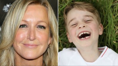 Lara Spencer and Prince George