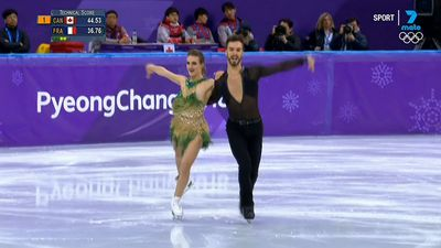 Wardrobe malfunction causes Olympic stress for French skater Gabriella Papadakis at Winter Olympics