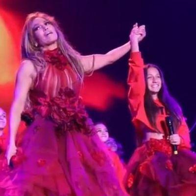 Jennifer Lopez and Emme Muñiz