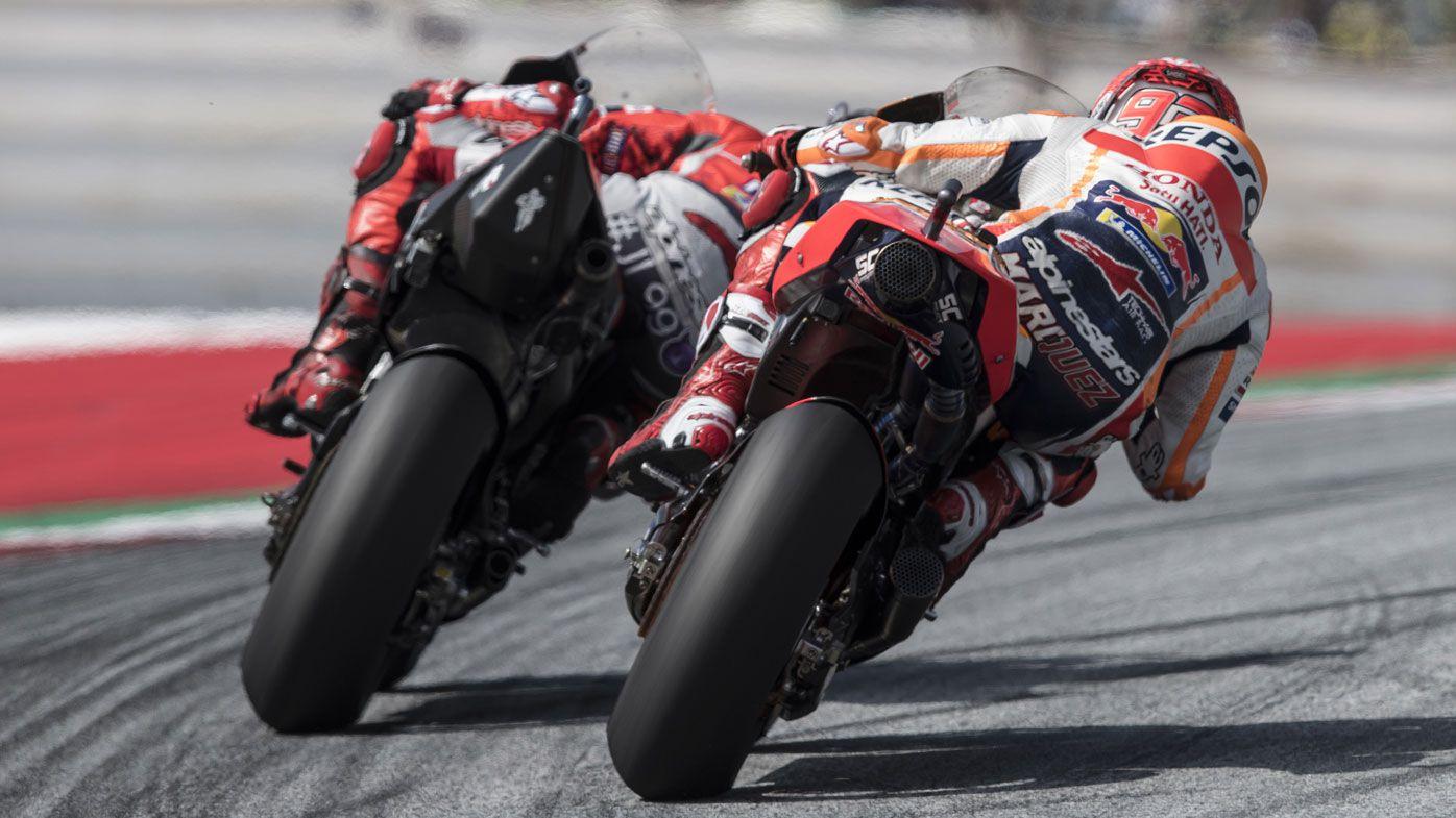 Jorge Lorenzo and Marc Marquez