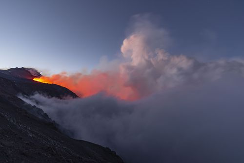 Despite Mount Etna's latest eruption, authorities say there is no immediate risk to people in surrounding locations.