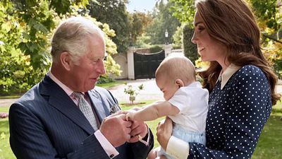 Unseen photo of Prince Louis with grandpa Prince Charles