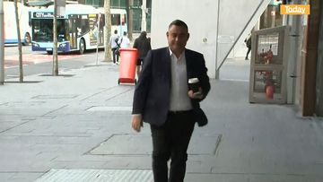 John Barilaro arrives at NSW parliament today.