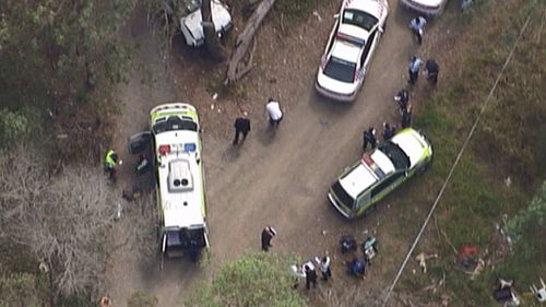 The man suffered injuries to his head and forearm. (9NEWS)