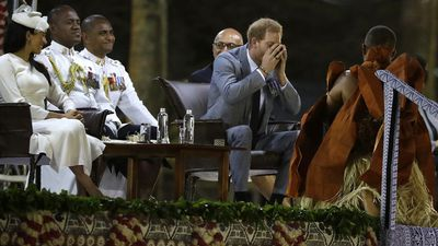 Bula! Harry sips on kava as royal tour heads to Fiji