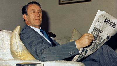 Fraser was heavily involved in foreign policy, notably his opposition to apartheid. He once refused permission for the South African Springboks to enter Australia as a result. Late former prime minister Malcolm Fraser relaxes at The Lodge in Canberra, 1978. (AAP)