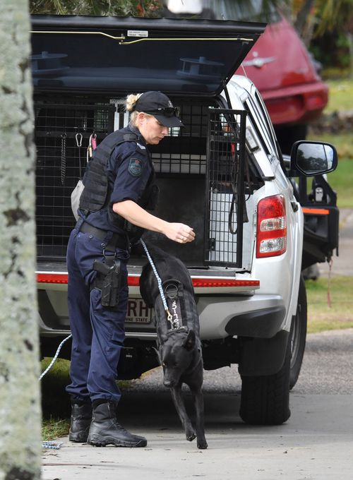 A manhunt was sparked after a female body was found in a barrel in the back of a ute, which is believed to have now been identified as Larissa.