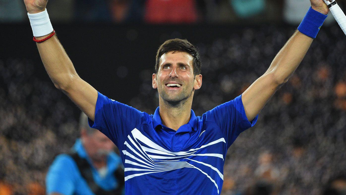 Novak Djokovic's inspiring show of respect for Australian Open champion Dylan Alcott
