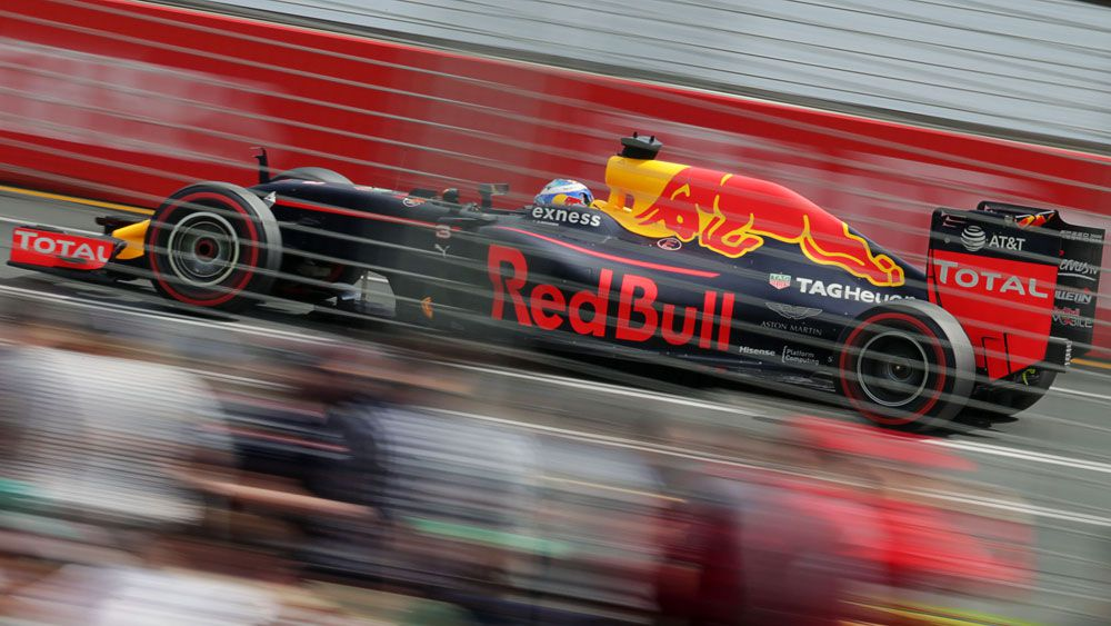 Ricciardo qualifies 8th for Aust F1 GP