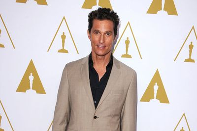 Matthew McConaughey lost 23kg for his role as an AIDS patient in <i>Dallas Buyers Club</i>.