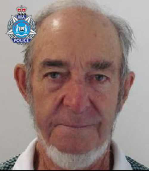 Trevor McDonald is missing in outback WA.