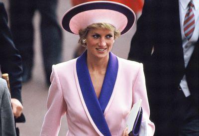 Princess Diana at Royal Ascot 1990