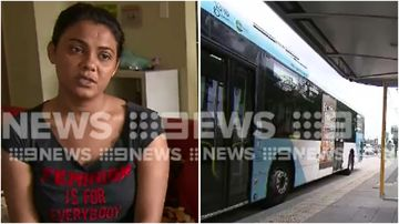 Sara is warning other mums to be careful after she was attacked at a Western Sydney bus station.