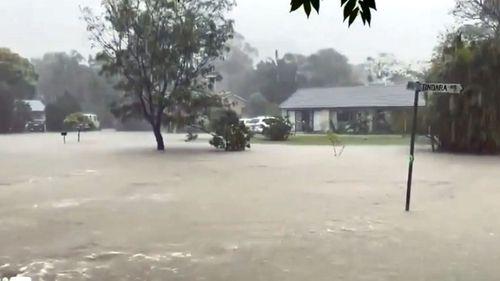 Floods on NSW Mid North Coast