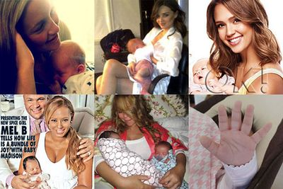 Other stars to welcome babies in 2011 included Pink (a girl, Willow), Mariah Carey (twins Monroe and Moroccan), Jessica Alba (a girl, Haven) Lily Allen (a girl), Mel B (a girl, Maddison), Kate Hudson (a boy, Bing), Selma Blair (a boy, Arthur), Natalie Portman (a boy, Alef), and Miranda Kerr (a boy, Flynn).