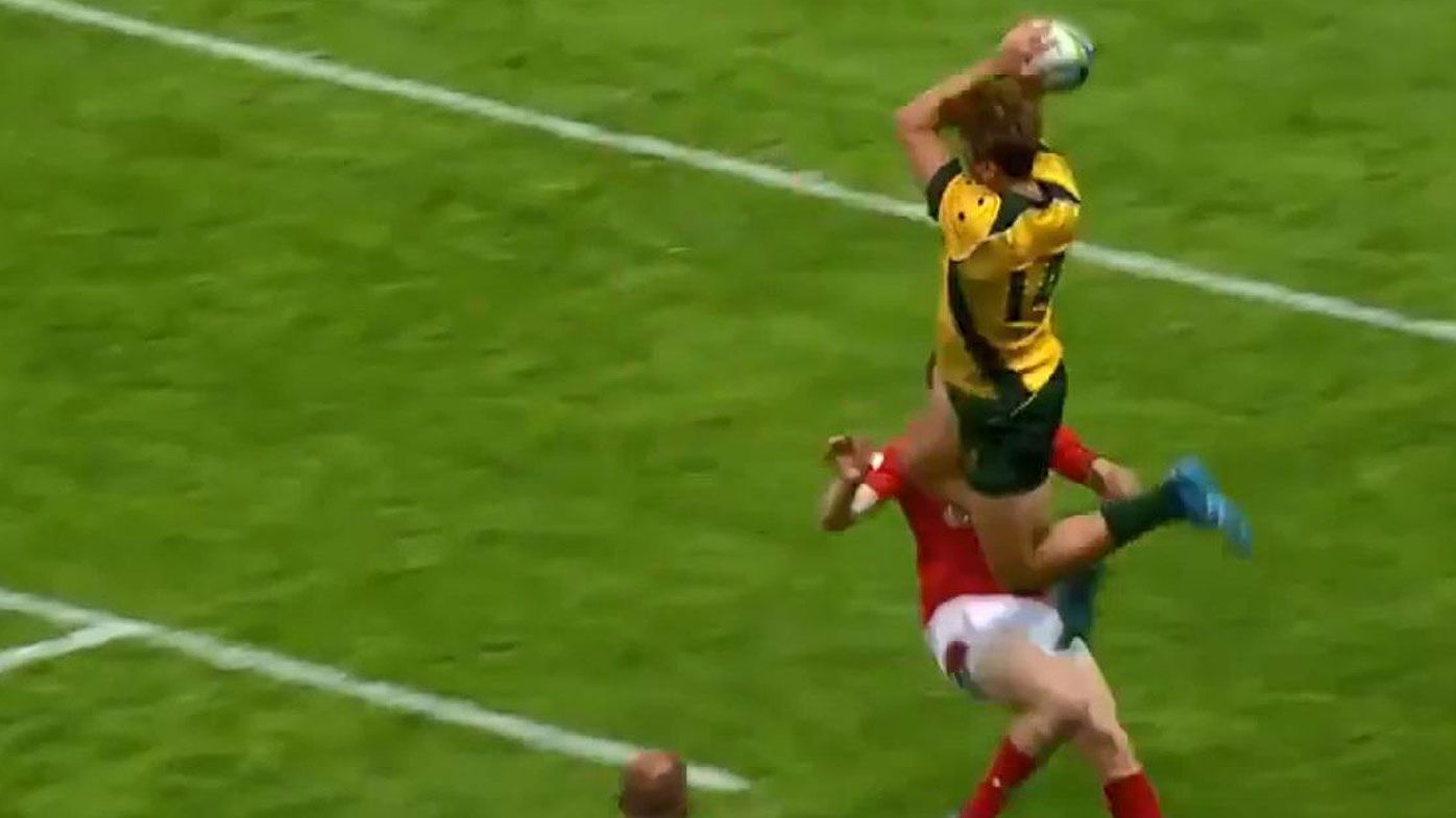 Rugby: Junior Wallabies score spectacular team try for the ages