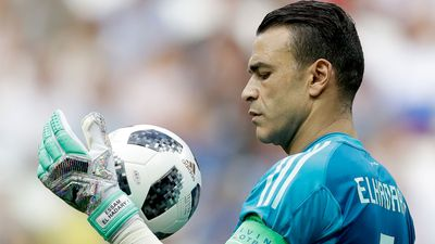 Old timer El Hadary sets World Cup record