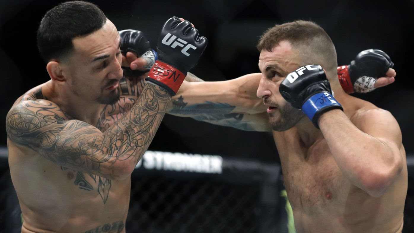 Australian world champion Alex Volkanovski's title rematch on UFC Fight Island