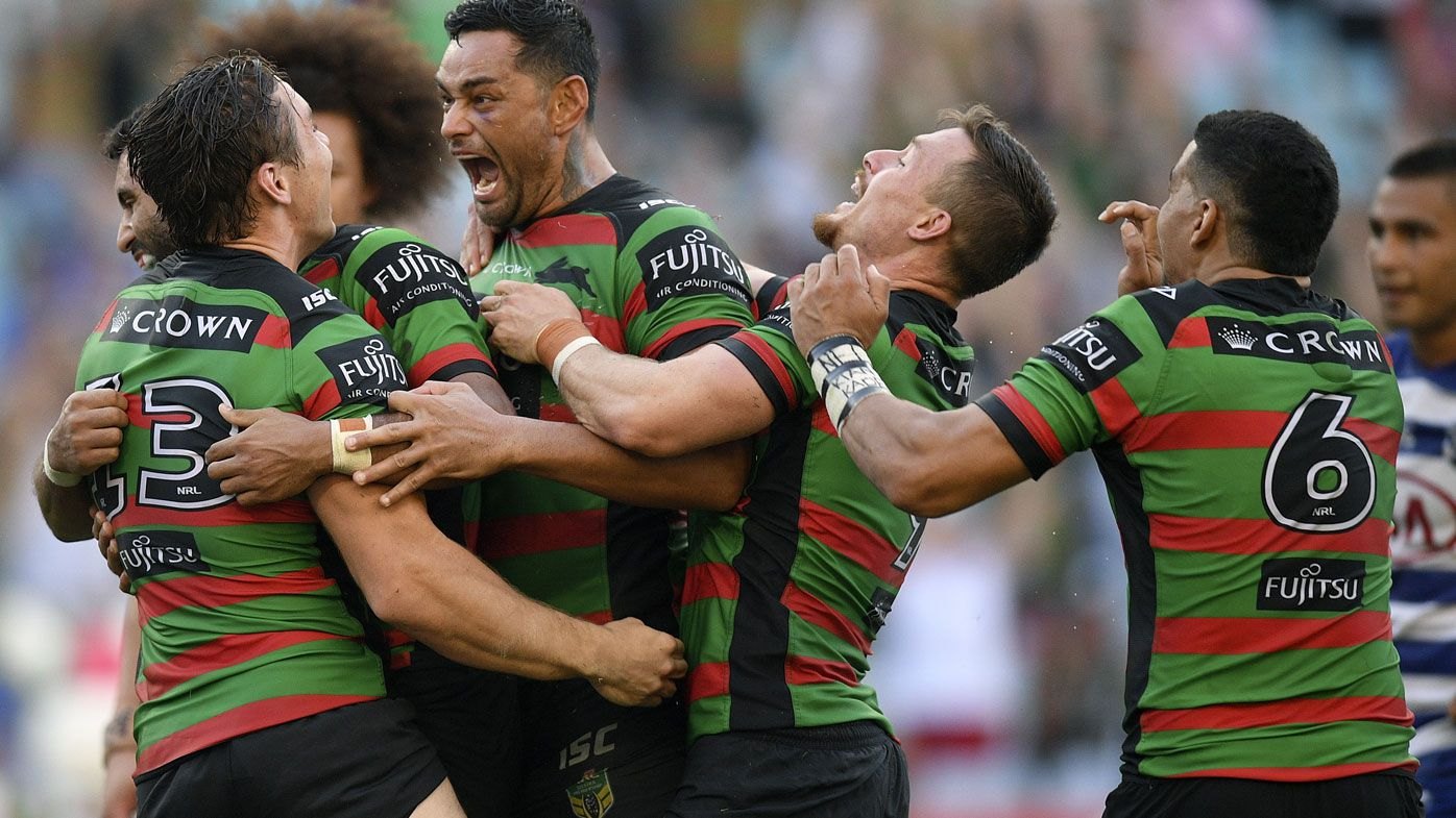 Souths in controversial NRL win over Dogs
