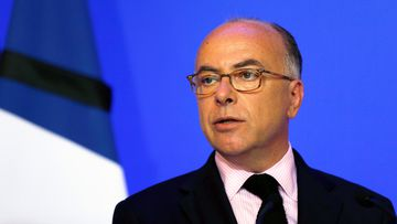 French Interior Minister Bernard Cazeneuve delivers a statement at Hotel de Beauvau in Paris on July 16, 2016, following the Bastille Day attack in Nice. (AFP)