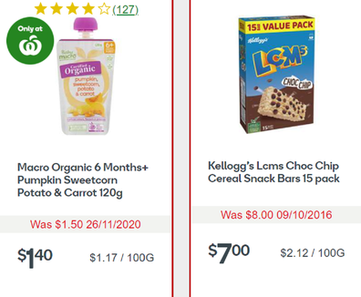 Woolworths specials this week