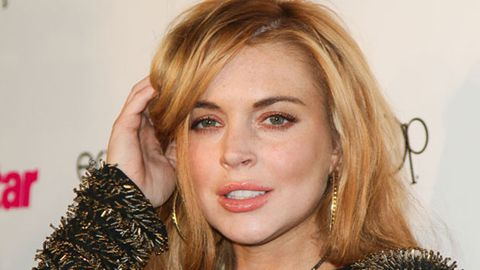 I'll show you mine if you show me yours: Lindsay Lohan made crew strip to film topless <i>Canyons</i> scene
